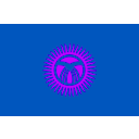 download Flag Of Kyrgyzstan clipart image with 225 hue color