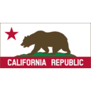 California Banner Clipart B Solid