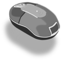 download Mouse Hardware clipart image with 315 hue color