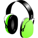 download Headphones clipart image with 45 hue color