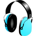 download Headphones clipart image with 135 hue color