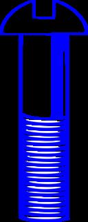 Machine Screw Blue