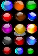 Glossy Orbs Balls 2