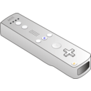 download Wiimote clipart image with 45 hue color