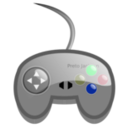 download Simple Game Pad clipart image with 135 hue color