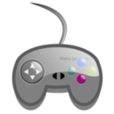 download Simple Game Pad clipart image with 225 hue color
