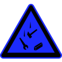 download Signs Hazard Warning clipart image with 180 hue color