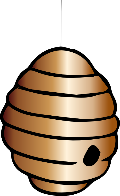 clipart beehive - photo #13