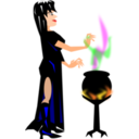 Witch With Cauldron