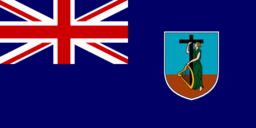 Flag Of Montserrat United Kingdom