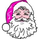 download Classic Santa clipart image with 315 hue color