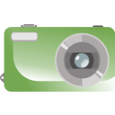 download Digital Camera clipart image with 135 hue color