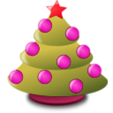download Christmas Icon clipart image with 315 hue color