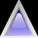 Led Triangular Blue