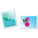 download Stamp clipart image with 315 hue color
