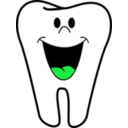 download Happy Tooth clipart image with 135 hue color