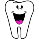 download Happy Tooth clipart image with 315 hue color