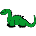 download Platypuscove Dinosaur 001a clipart image with 45 hue color