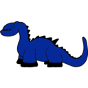 download Platypuscove Dinosaur 001a clipart image with 135 hue color