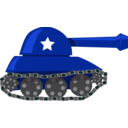 download Cartoon Tank clipart image with 135 hue color