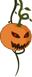 Cartoon Jack O Lantern Pumpkin