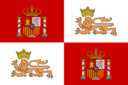 Historic Flag Of The Spain Royal Navy