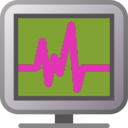 download Icon Monitoring clipart image with 225 hue color