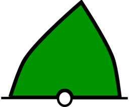 Conical Buoy Green