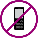 download No Cellphone clipart image with 315 hue color
