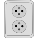 download Socket clipart image with 225 hue color