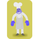 download Chef clipart image with 225 hue color
