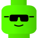 download Lego Smiley Cool clipart image with 45 hue color