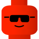 download Lego Smiley Cool clipart image with 315 hue color