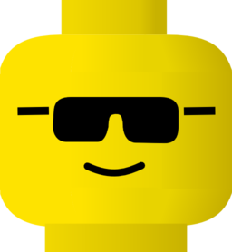 Lego Smiley Cool