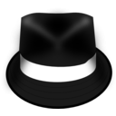 download Hat Trilby clipart image with 315 hue color
