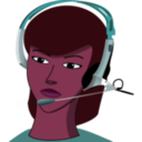 download Call Centre clipart image with 315 hue color