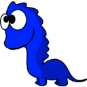 download Dino clipart image with 135 hue color