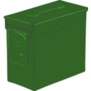 download Ammo Can clipart image with 45 hue color