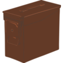 download Ammo Can clipart image with 315 hue color