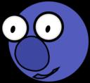 Cartoon Blueberry