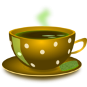 download Cup Of Tea clipart image with 45 hue color