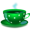 download Cup Of Tea clipart image with 135 hue color