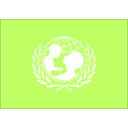 download Flag Of The Unicef clipart image with 225 hue color