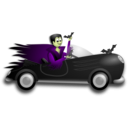 download Little Dracula Driver clipart image with 45 hue color
