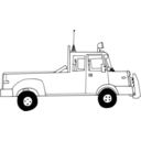 download Truck clipart image with 315 hue color