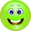 download Yellow Surprised Smiley Emoticon clipart image with 45 hue color