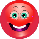 download Yellow Surprised Smiley Emoticon clipart image with 315 hue color