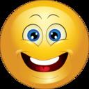 Yellow Surprised Smiley Emoticon