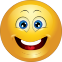 Yellow Surprised Smiley Emoticon