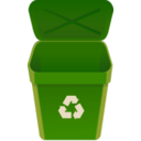 download Recycle Can clipart image with 315 hue color